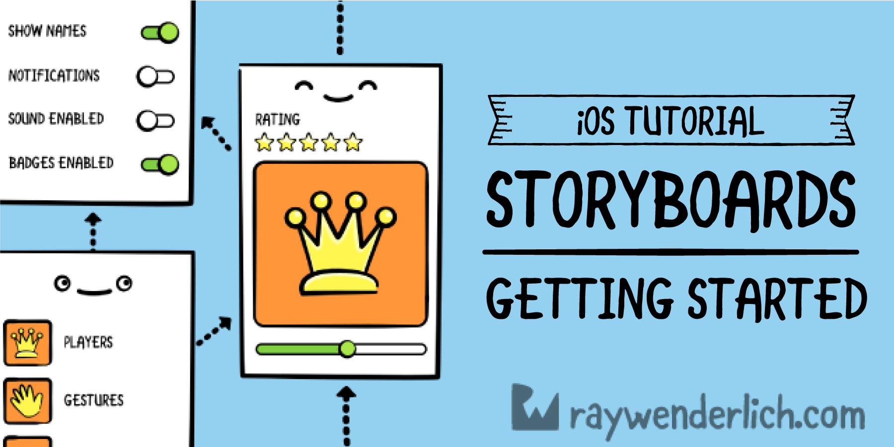 Storyboards Tutorial for iOS