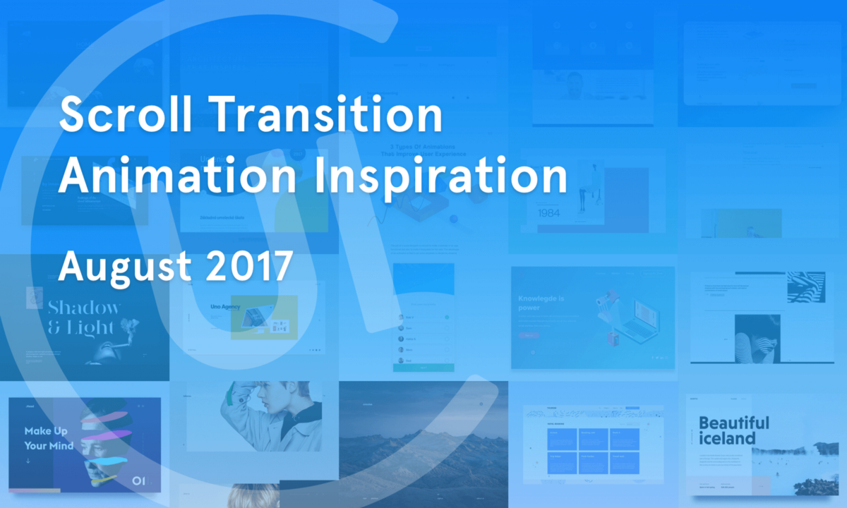 Scroll Transition Animation Inspiration