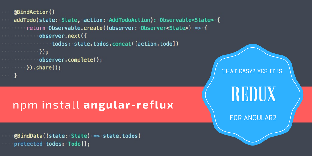 Angular 2 — Implementing FLUX architecture